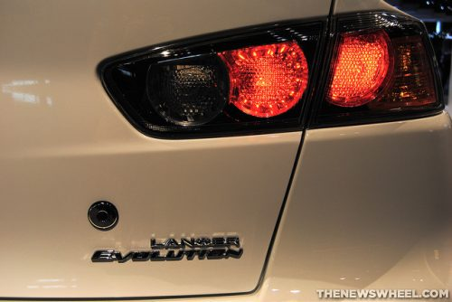 last production lancer evolution
